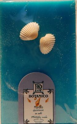 Mýdlo glycerín dárkové s dekorací folie 180g