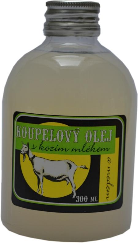 Olejová koupel s kozím mlékem a medem