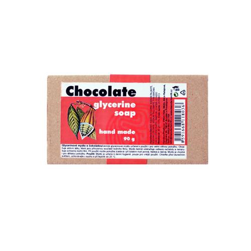 Glycerínové mýdlo čokoláda 90g