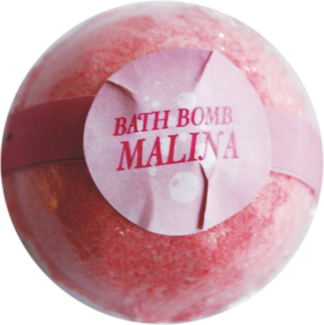 Bath bombs 70 g malina
