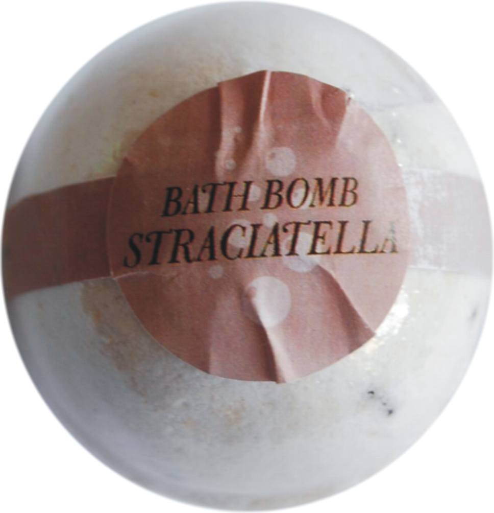 Bath bombs 70 g straciatella